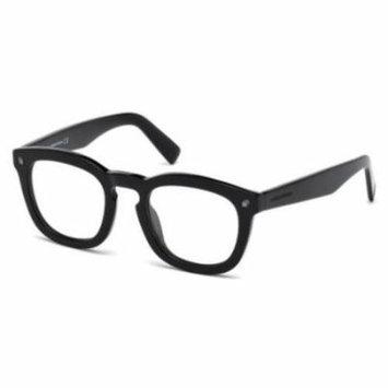 DSQUARED2 Sunglasses DQ0198 001 Shiny Black 49MM