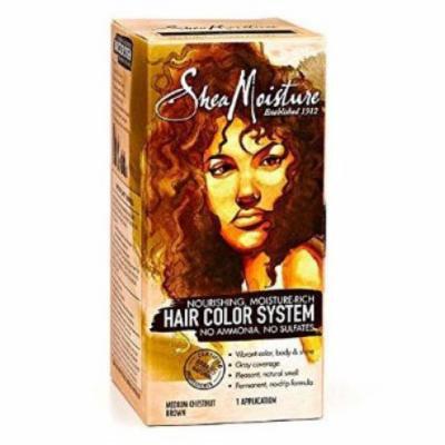 SheaMoisture Hair Color - Medium Chestnut Brown Kit (Pack of 2)