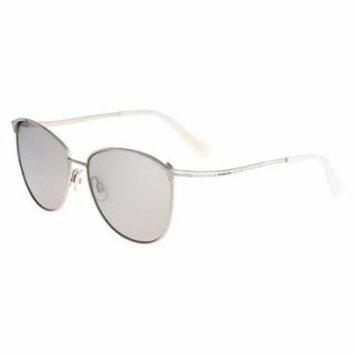BEBE Sunglasses BB7146 045 Silver 58MM