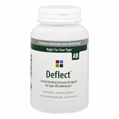 D'Adamo Personalized Nutrition - Deflect AB - 120 Vegetarian Capsules