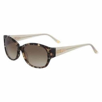 ANNE KLEIN Sunglasses AK7034 206 Mocha Tortoise 54MM