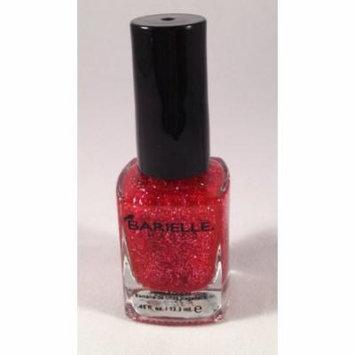 Barielle Ebony Rainbow Nail Polish, Dark Multi Glitter, 0.45 Ounce