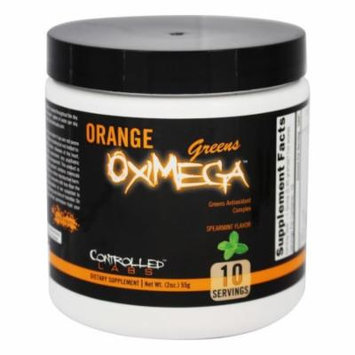 Controlled Labs - Orange OxiMega Greens Spearmint - 2 oz.