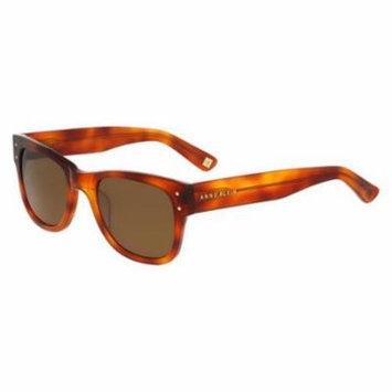 ANNE KLEIN Sunglasses AK7004 944 Blonde Tortoise 50MM