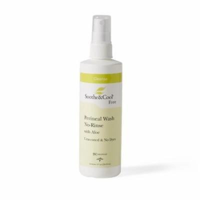 New Soothe & Cool No Rinse Perineal Cleansing Spray, 8 oz Bottle, Pack Of 3