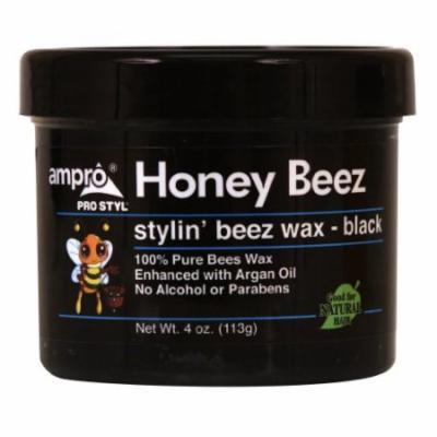 Ampro Honey Beez Wax - Black 4 oz. (Pack of 2)