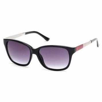 CANDIES Sunglasses CA1009 01B Shiny Black 55MM