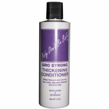 Baby Don't Be Bald Gro Strong Conditioner 8 oz. (Pack of 2)
