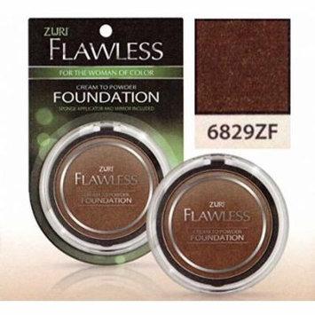 Zuri Flawless Cream to Powder Foundation - Cocoa