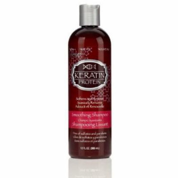 Hask Keratin Smooth Shampoo 12 oz. (Pack of 2)