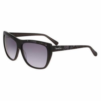 BEBE Sunglasses BB7140 001 Jet 58MM