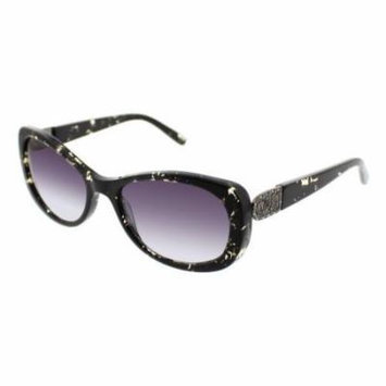 JESSICA MCCLINTOCK Sunglasses 577 Black Marble 55MM