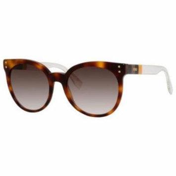 FENDI Sunglasses 0083/S 0E6Z Havana Yellow Crystal 55MM