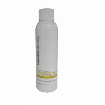 Keratin Complex Therapy Natural Smoothing Treatment For Blonde Hair 4 Ounce