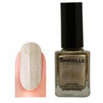 Barielle Gold Digger Nail Polish, Gold with Sparkles, 0.45 Ounce