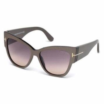 TOM FORD Sunglasses FT0371 38B Bronze 57MM