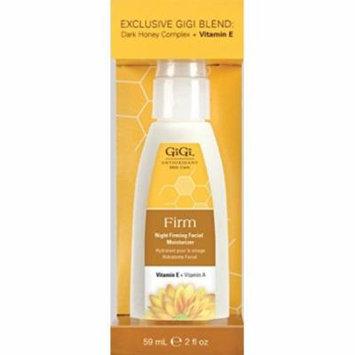 Gigi Night Firming Facial Moisturizer Dark Honey Complex & Vitamin E 2 oz. (Pack of 2)
