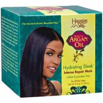 Hawaiian Silky Argan Repair Mask 8.5 oz. (Pack of 2)