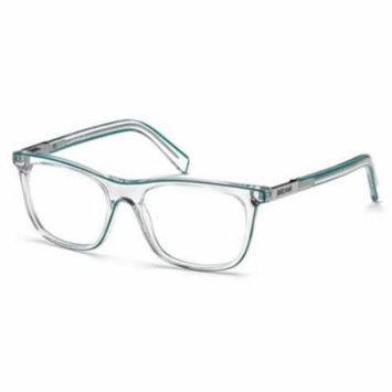 JUST CAVALLI Eyeglasses JC0606 027 Crystal 52MM