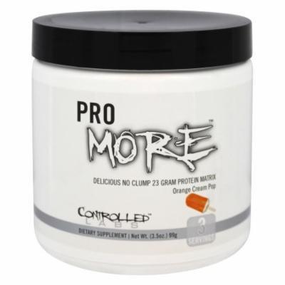 Controlled Labs - ProMore Protein Matrix Orange Cream Pop - 3.5 oz.