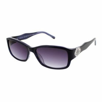 JESSICA MCCLINTOCK Sunglasses 575 Blue Laminate 57MM