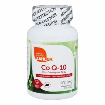 Zahler - CoQ-10 100 mg. - 60 Softgels
