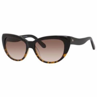 KATE SPADE Sunglasses EMALEE/S 0EUT Black Tortoise Fade 53MM
