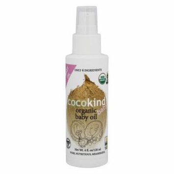 Cocokind - Organic Baby Oil - 4 oz.
