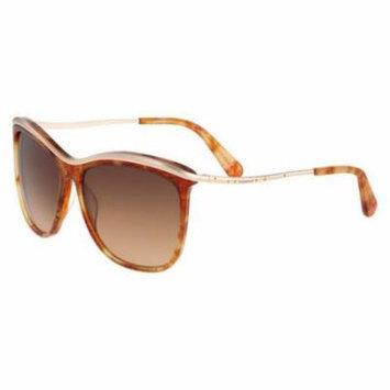 BEBE Sunglasses BB7147 238 Amber Shimmer Tortoise 58MM