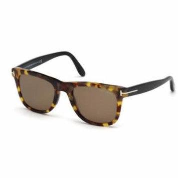 TOM FORD Sunglasses FT9336 55J Coloured Havana 52MM