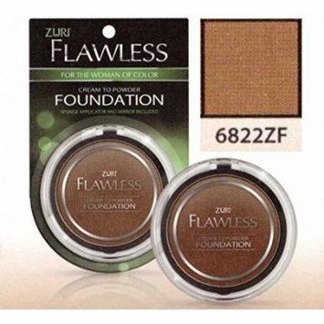 Zuri Flawless Cream to Powder Foundation - Sable