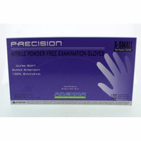 Adenna PRECISION Thin Nitrile PF, Fingertip Textured PCS770 Extra Small