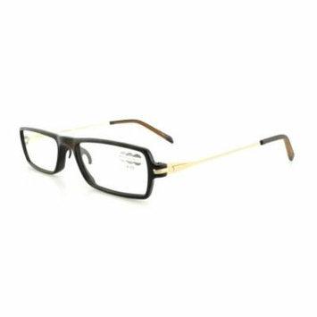 TUMI Reading Glasses COMPATTO +2.00 Brown Tortoise 52MM