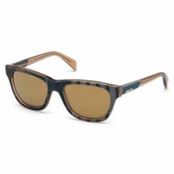 DIESEL Sunglasses DL0111 92G Blue 54MM