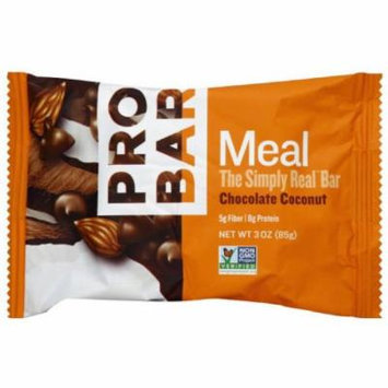 Pro Bar Meal Bar, Chocolate Coconut, 3 OZ (Pack of 12)