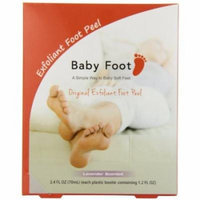 Baby Foot Exfoliant Foot Peel (1 Pair Booties - 1.2 fl.oz each)