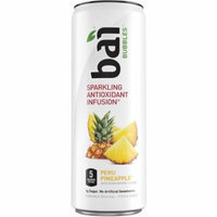 Bai Bubbles Sparkling Antioxidant Infusion Voyager Antioxidant Beverage Variety Pack, 11.5 fl oz, 12 pack