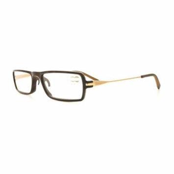 TUMI Reading Glasses COMPATTO +1.50 Brown Tortoise 52MM