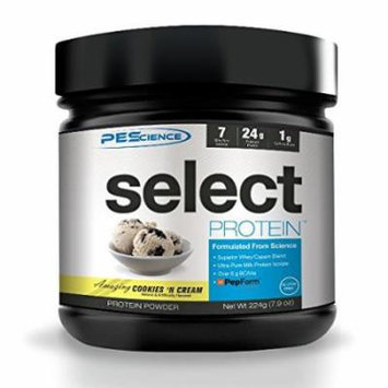 PEScience SELECT Protein Premium Blend, Cookies N Cream, 7 Servings