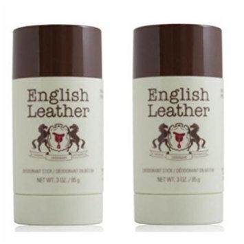 English Leather Deodorant Stick - 3 Oz (85g) (2 Pack)