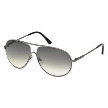 TOM FORD FT 0450 Sunglasses 09B Matte Gunmetal