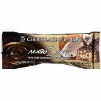 Nugo Dark Coconut Chocolate Bar, 1.76 oz, (Pack of 12)