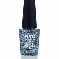 Nyc Disco Inferno Top Coat Nail Polish Disco Inferno 001