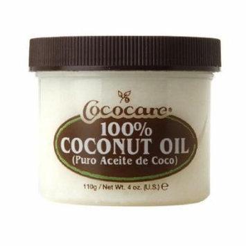 Cococare 100% Coconut Oil 4 oz. (Pack of 6)