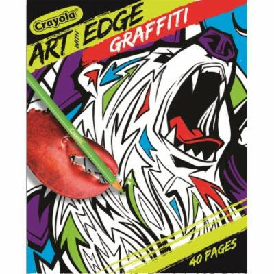 Crayola Graffiti Art Book