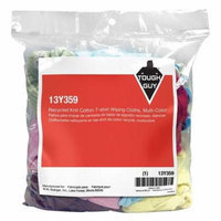 Tough Guy 13Y359 Varies Assorted Recycled Cotton Knit Cloth Rag