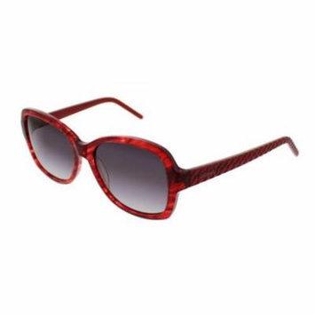 ELLEN TRACY Sunglasses VERIA Red Horn 55MM