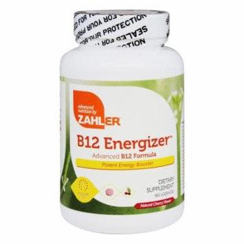 Zahler - B12 Energizer Natural Cherry Flavor - 360 Lozenges