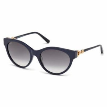 TOD'S Sunglasses TO0154 92B Blue 56MM