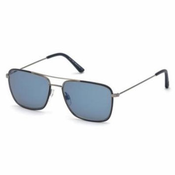 TOD'S Sunglasses TO0158 90C Shiny Blue 54MM